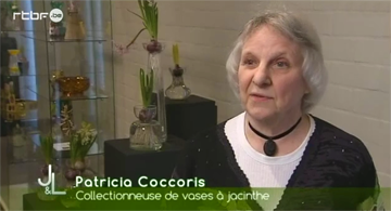 patricia Coccoris on TV - © RTBF