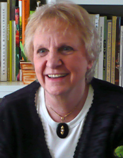 Patricia Coccoris, author of The Curious History of the Bulb Vase